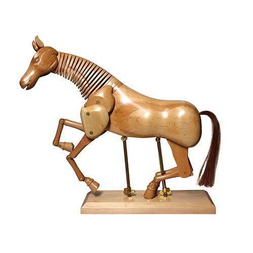 Cavalli snodabili in legno
