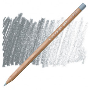 MATITA CARAN D'ACHE LUMINANCE 004 STEEL GREY