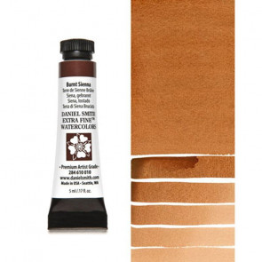 ACQUERELLO DANIEL SMITH 5ml S1 BURNT SIENNA