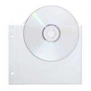 BUSTE PORTA CD CON 2 FORI PER RACCOGLITORE CONF. 25 BUSTE