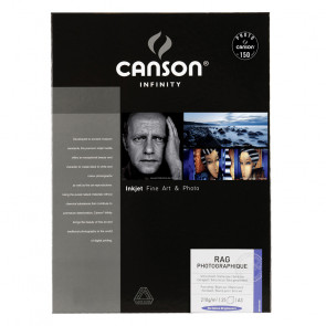 CANSON RAG PHOTOGRAPHIQUE 210g A3 (29.7X42) 25 f 100% COTONE