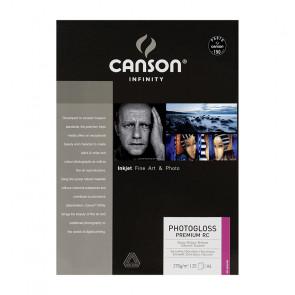 CANSON PHOTOGLOSS PREMIUM RC 270g A4 21x29,7cm 25 FOGLI
