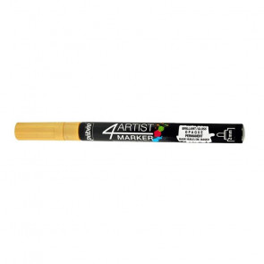 PENNARELLO 4ARTIST MARKER 2mm OR - ORO
