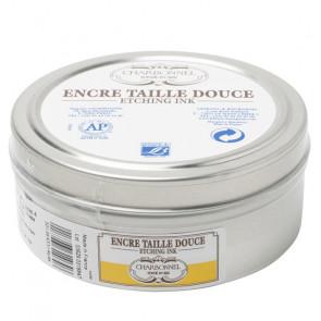 CHARBONNEL ENCRE TAILLE DOUCE LAQUE JAUNE SOLIDE 200 ml