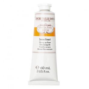 CHARBONNEL ENCRE TAILLE DOUCE JAUNE FONCE' TUBO 60 ml