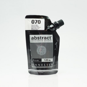 ACRILICO SENNELIER ABSTRACT 120ml 070 IRIDESCENT BLACK