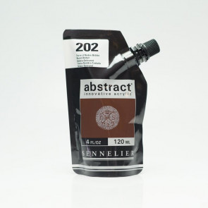 ACRILICO SENNELIER ABSTRACT 120ml 202 BURNT UMBER
