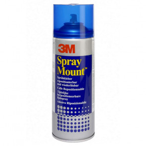 COLLA SPRAY MOUNT 400 ml COLLANTE RIPOSIZIONABILE