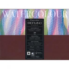 BLOCCO WATERCOLOUR 18X24 20 FOGLI 200 g/m² GRANA FINE