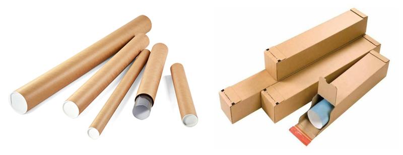 Tubi e Scatole In Cartone