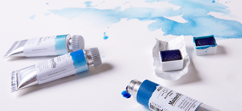 Acquerelli Maimeri Blu tubo