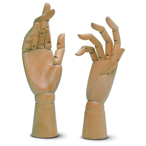 Mani snodabili in legno
