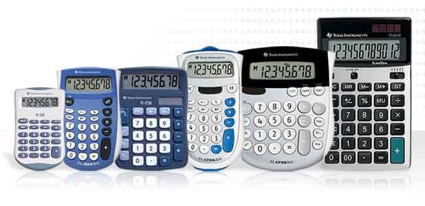 Calcolatrici Tascabili