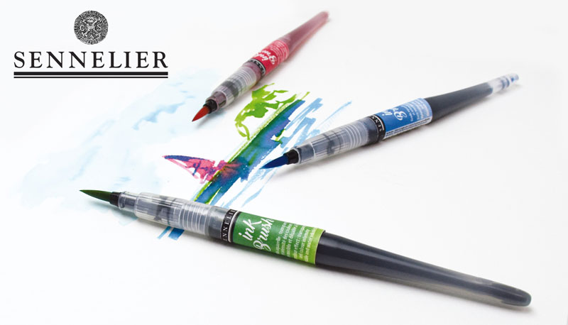 Ink Brush Markers Sennelier