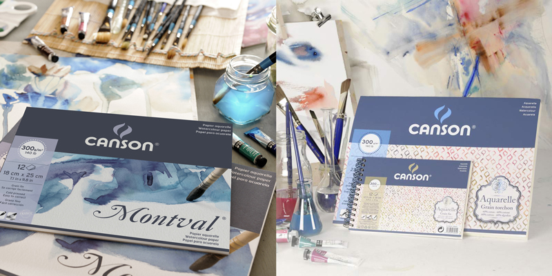 Canson Montval 100% cellulosa