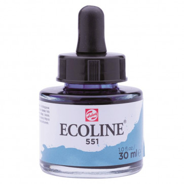 TALENS ECOLINE 30 ml          N. 551 SKY BLUE LIGHT