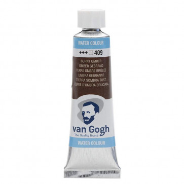 ACQUERELLO VAN GOGH TUBO 10 ml 409 BURNT UMBER