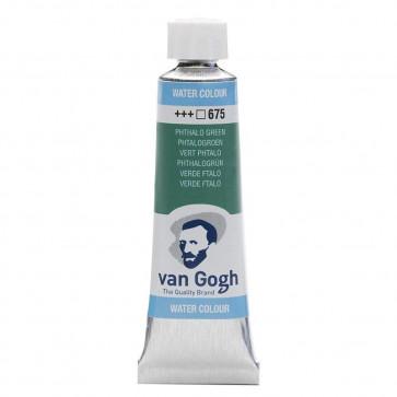 ACQUERELLO VAN GOGH TUBO 10 ml 675 PHTALO GREEN
