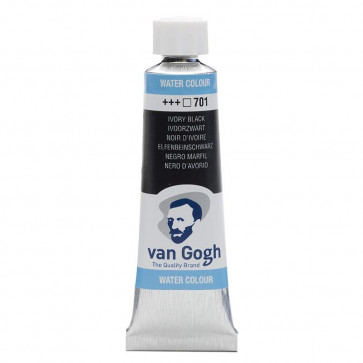 ACQUERELLO VAN GOGH TUBO 10 ml 701 IVORY BLACK