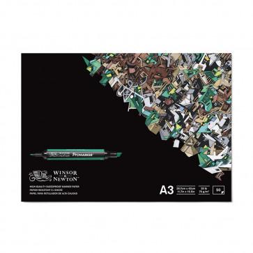 BLOCCO PER MARKERS A3 WINSOR & NEWTON 50 FOGLI 75 g/m²
