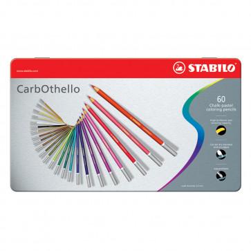 MATITE STABILO CARBOTHELLO 60 COLORI CASSETTA DI METALLO