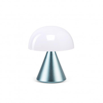 LEXON MINA MINI LAMPADA LED   METAL LIGHT BLUE
