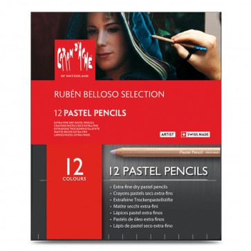 MATITE CARAN D'ACHE PASTEL PENCILS RUBÉN BELLOSO SELECTION