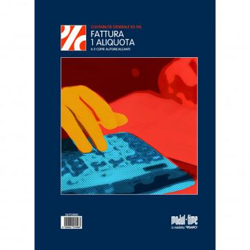 FATTURE AD UNA ALIQUOTA MODULI AUTOCALCANTI 2 COPIE 22X30