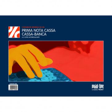 PRIMA NOTA CASSA-BANCA MODULI AUTOCALCANTI 2 COPIE 22X30
