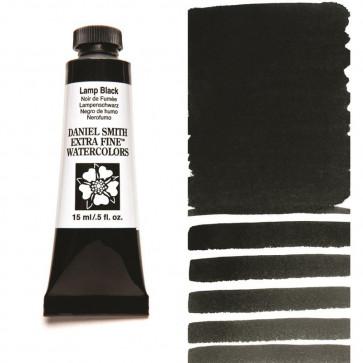 ACQUERELLO DANIEL SMITH 15ml  S1 LAMP BLACK