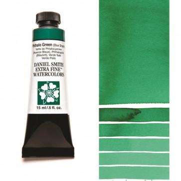 ACQUERELLO DANIEL SMITH 15ml  S1 PHTALO GREEN (BLUE SHADE)