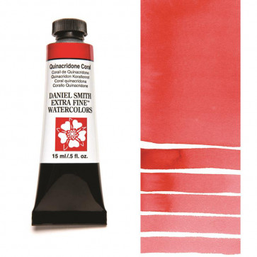 ACQUERELLO DANIEL SMITH 15ml  S2 QUINACRIDONE CORAL