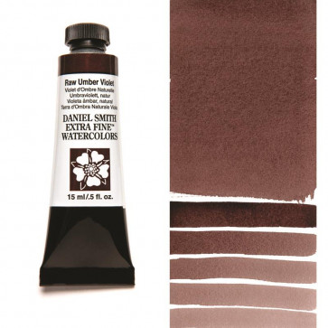 ACQUERELLO DANIEL SMITH 15ml  S1 RAW UMBER VIOLET