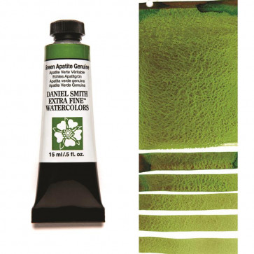ACQUERELLO DANIEL SMITH 15ml  S3 GREEN APATITE GENUINE