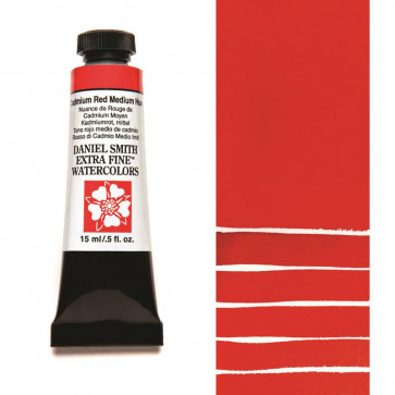 ACQUERELLO DANIEL SMITH 15ml  S3 CADMIUM RED MEDIUM HUE