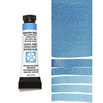 ACQUERELLO DANIEL SMITH 5ml S2 CERULEAN BLUE, CHROMIUM