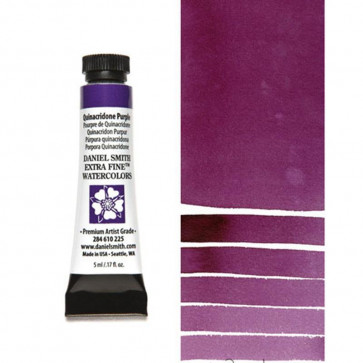 ACQUERELLO DANIEL SMITH 5ml S2 QUINACRIDONE PURPLE