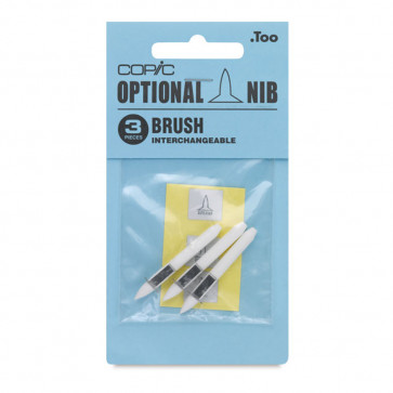 3 PUNTE DI RICAMBIO BRUSH PER  PENNARELLI COPIC