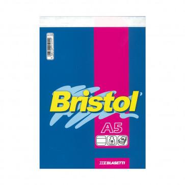 BLOCCO BRISTOL 15X21 SPILLATO 60 FOGLI 50 g/m² A RIGHE