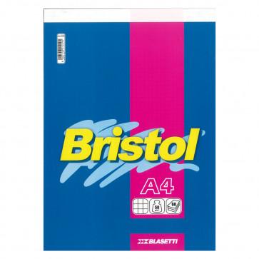 BLOCCO BRISTOL 21X29 SPILLATO 60 FOGLI 50 g/m² QUADRETTO 5mm