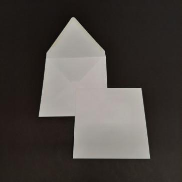 BUSTA DA LETTERA BIANCOFLASH 15,7X15,7 cm COLORE BIANCO
