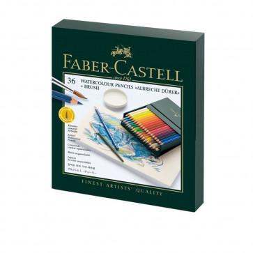 FABER CASTELL ALBRECHT DÜRER STUDIO BOX 36 COLORI + PENNELLO
