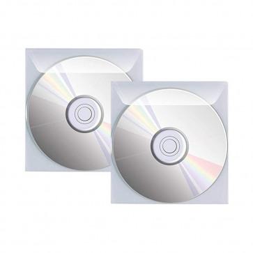 25 BUSTE PORTA CD/DVD CON PATTELLA