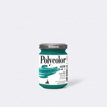 polycolor maimeri vaso 140 ml blu turchese