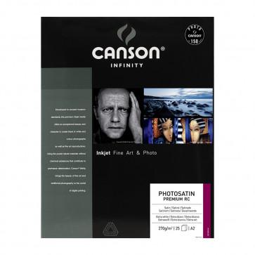 CANSON PHOTOSATIN PREMIUM RC  270 g/m² A2 42X59,4 cm 25 FF