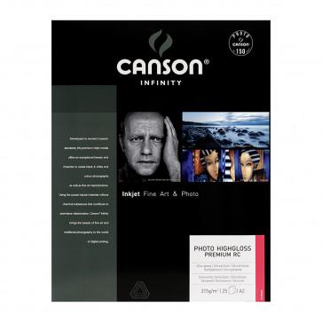 CANSON PHOTO HIGHGLOSS PREMIUM 315g A2 42.59.4 25f