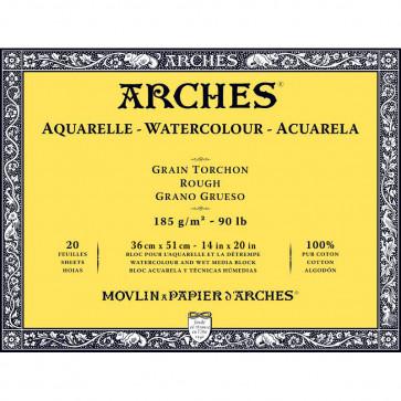 BLOCCO ARCHES 36X51 GRANA RUVIDA 20 FOGLI 185 g/m²