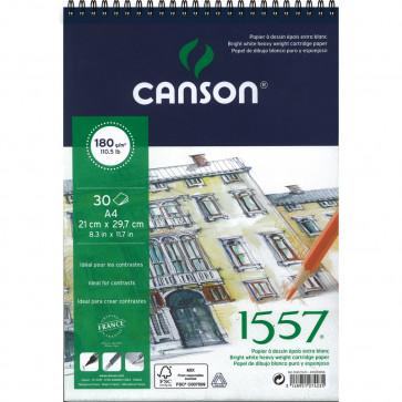 BLOCCO CANSON 1557 A4 30 FOGLI 180 g/m² RILEGATI A SPIRALE