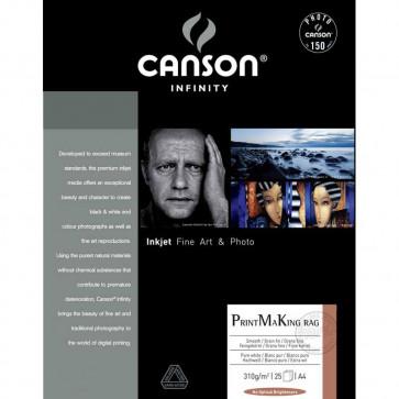 CANSON PRINT_MAKING RAG 100% COTONE A3+ 32,9X48,3 310g