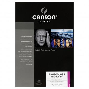 CANSON PHOTOGLOSS PREMIUM RC 270g A3+ 32,9X48,3cm 25 FOGLI